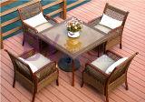 Outdoor Courtyard Balcony Leisure Mesa e Cadeiras Combinação de Três Conjuntos