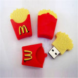 Novidade Mcdonald Cartoon Thumb USB French Fries Memória Flash