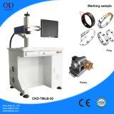 машина инструмента маркировки лазера волокна 20W на кольце