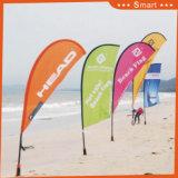 bandierina su ordinazione della piuma della lama 5PCS per la pubblicità di evento o esterna o Sandbeach no. di modello: Qz-009