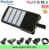 Luz do lote de estacionamento da caixa de sapata do diodo emissor de luz de Dlc Shoebox 200W 110V