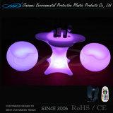 Mobilia illuminata della Tabella LED della barra con il materiale del PE