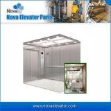 elevador do passageiro do hospital do aço inoxidável da linha fina 1000kgs