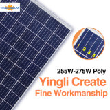 El panel 250W 255W 260W 265W 270W 275W de Yingli 4bb picovoltio