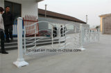 Barandilla de acero galvanizada decorativa de alta calidad 18 del balcón de la aleación de Haohan Alluminum