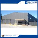 Almacén ligero prefabricado del edificio de la estructura de acero del diseño