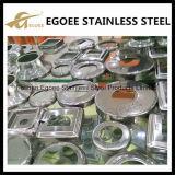 Revêtement de balustrade / balustre en acier inoxydable / plaque de base