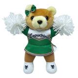 Подгонянный милый медведь для медведя плюша Cheer милого в стойке с картиной Cheer