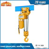 tipo grua Chain elétrica de 7.5t Kito com trole elétrico