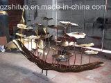 플랜트 금속 조각품의, 실내 및 옥외 금속 훈장