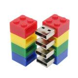 palillo de la memoria del mecanismo impulsor del flash del USB de los ladrillos del juguete 8GB con la dimensión de una variable de Lego