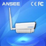 Nuvem audio de alta resolução P2p de WiFi da câmera impermeável do IP da bala do IR para a HOME esperta