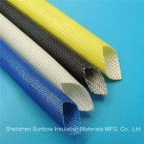 isolation électrique de fil de la fibre de verre 4.0kv enduite acrylique gainant 8 millimètres