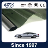 Película solar del color de 2 capas de la cara del parabrisas del coche negro de la ventana