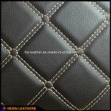 Form Stich Entwurf synthetisches PU-Leder für Auto-Sitzdeckel Hx-M1708