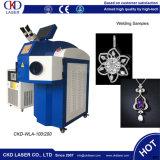 Novo tipo sistema da soldadura de ponto do laser para a jóia