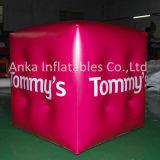 Aerostato gonfiabile personalizzato del quadrato del cubo dell'elio per la pubblicità