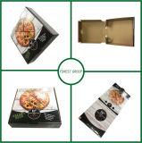 광택 있는 박판 음식 포장 피자 상자