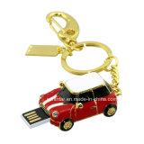 Bastone a cristallo del USB di figura dell'automobile di Thumbdrive dell'azionamento dell'istantaneo del USB dei monili