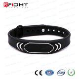 Produtos novos! Venda por atacado 13.56MHz RFID Wristband-Hywgj23 do preço de fábrica