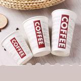 Tazze di caffè beventi di vendita di disegno di carta su ordinazione caldo di marchio con i coperchi