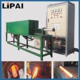 Tipo vertical de frecuencia media horno de la forja de la calefacción de inducción