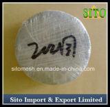 Disco de aço do filtro de água de /Stainless do filtro de engranzamento do fio do aço inoxidável