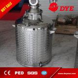 distillatore caldo dell'alcool della strumentazione di distillazione dell'etanolo dell'acciaio inossidabile di vendita 100L