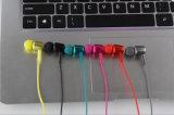 1 en el auricular de gama alta del receptor de cabeza de Bluetooth de 2 deportes del metal elegante