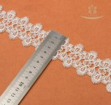 Nouveau design Mutil-Color Milk-Yard Daisy Flower Lace Trimming Custom for Garment