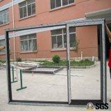 Portello scorrevole del blocco per grafici di alluminio delle 3 piste, finestra, finestra di alluminio, finestra di alluminio, portello di vetro K01094