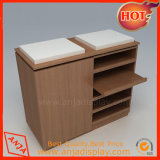 Étalages au détail en bois de caisses de sortie à vendre