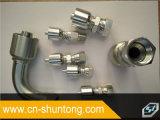 Krümmer-hydraulischer Adapter Jic männlicher Kohlenstoffstahl