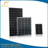 Alta eficiencia 5W para el panel solar 320W con marco de aluminio