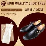 Árbol barato de madera natural ajustable del zapato del laser del diseño cómodo