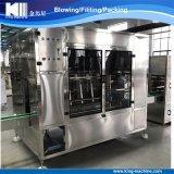 Chaîne de production recouvrante remplissante de lavage de 5 gallons de position de baril automatique de l'eau