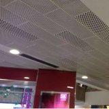 De aluminio a prueba de fuego de techo perforado Falso para uso en interiores
