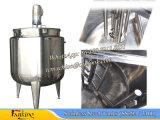 Tanque de Mezclado de Vapor con Mezcla Tanque de Mezclado con Envoltura de Tanque Tanque de Mezclado Aislado Tanque de Mezcla de 500L Hecho de Ss304