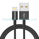 Datos reversibles originales del relámpago 8pin de Mfi que cargan el cable del USB para el iPhone 7/6/5