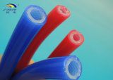 Tubo reforzado del caucho de silicón
