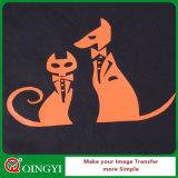 Vinyle de transfert thermique d'unité centrale de câble de logo du T-shirt DIY de Qingyi avec le bon prix