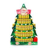 Boîte-cadeau de Noël, étalages de guichet de Noël, présentoir de Noël