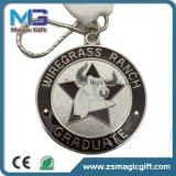 Medaglia a buon mercato personalizzata del metallo di sport di Shool del premio con la doratura elettrolitica