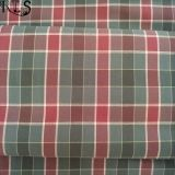 Il filato tessuto popeline 100% della banda del cotone ha tinto il tessuto per le camice/vestito Rls50-29po