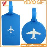 Étiquette de bagage de PVC de Customed de qualité de la Chine