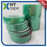 Nastro adesivo di mascheramento dell'animale domestico verde adesivo del silicone di calore