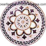 Diseño redondo decorativo del modelo de mosaico de la pared agradable de la mirada