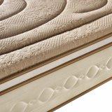 고급 뜨개질을 하는 직물 덮개 (FB739)를 가진 자연적인 유액 봄 매트리스