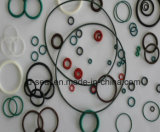 Todas as cores e tipo dos selos de borracha dos materiais, anel-O de borracha
