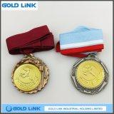 Médaillon courant de laiton de sports de médaille en métal de pièce de monnaie faite sur commande antique d'enjeu